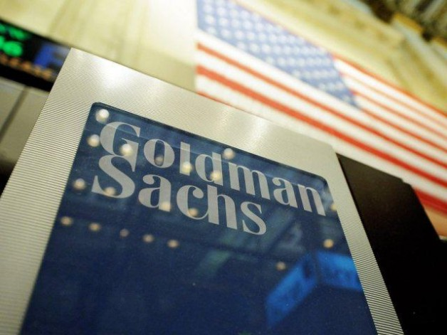 epa03435002 (FILE) A file photo dated 19 January 2011 showing a sign at the Goldman Sachs both on the floor of the New York Stock Exchange after the Opening Bell in New York, New York, USA. US investment bank Goldman Sachs reported 16 October 2012 a total of 1.5 billion dollars in earnings for the third quarter, beating analysts forecasts. The organization made a 428 billion loss in the same period in 2011...Goldman chief Lloyd Blankfein reported that most of the firm's divisions had shown better results, and that the value of the firm's investment in Chinese bank ICBC had also risen considerably.  EPA/JUSTIN LANE *** Local Caption *** 50399116
